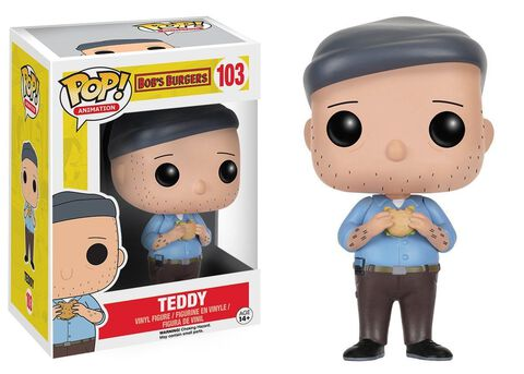 Figurine Funko Pop! N°103 - Bob's Burgers - Teddy
