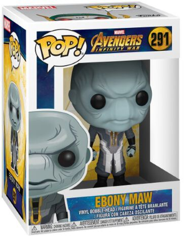 Figurine Funko Pop! N°291 - Avengers Infinity War - Ebony Maw