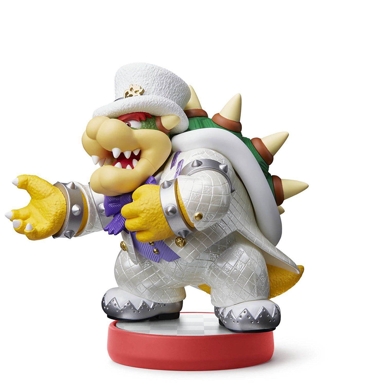 Figurine Amiibo Super Mario - Bowser Tenue de mariage