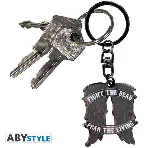 Porte-clés métal - The Walking Dead - Ailes de Daryl