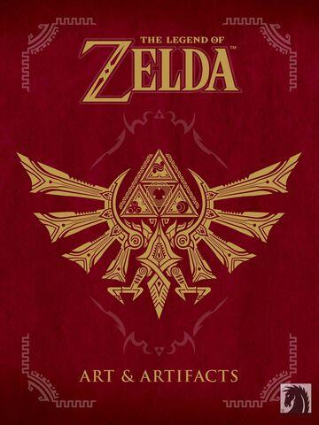 Livre - The Legend of Zelda - Art Artifacts