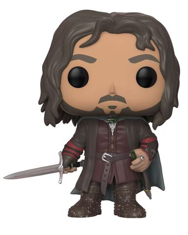 Figurine Funko Pop! N°531 - Le Seigneur des Anneaux - Série 2 Aragorn