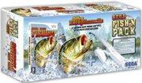 Sega Bass Fishing + Canne à Pêche