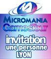 Micromania Games Tour : 1 Place Mgt Lyon 11 Octobre 2012