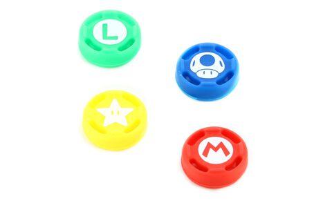 Grips en Silicone Super Mario Pour Joy-Con