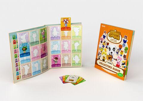 Album Collector Cartes Amiibo Animal Crossing 2