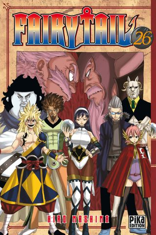 Manga - Fairy Tail - Tome 26