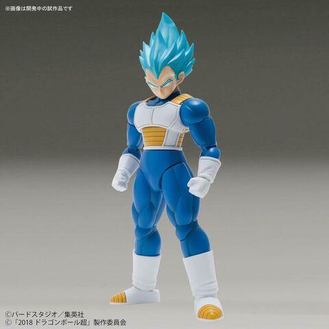 Figurine Figure-rise - Dragon Ball Super - Vegeta Super Saiyan (couleur spéciale)