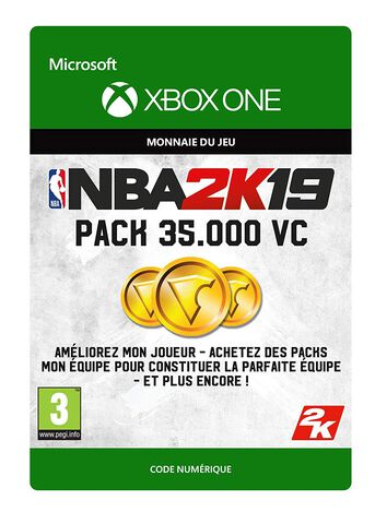 NBA 2K19 - DLC - Pack 35.000 VC