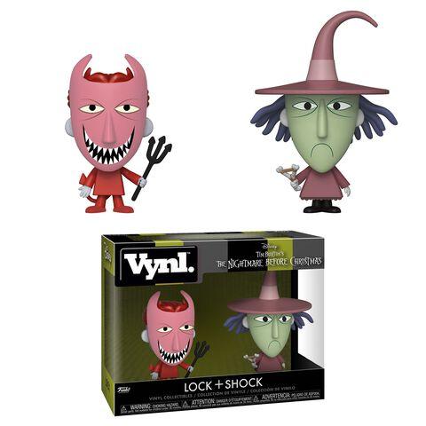 Figurine Vynl - L'Étrange Noël de Monsieur Jack - Twin Pack Am et Stram