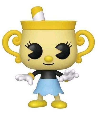 Figurine Funko Pop! N°416 - Cuphead - Ms. Chalice