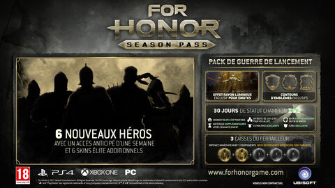 For Honor - Season Pass - Version digitale
