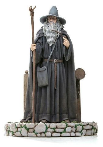 Statuette Iron Studios - Lord Of The Rings - Gandalf Deluxe Art 1/10