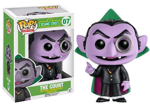 Figurine Funko Pop! N°07 - Sesame Street - The Count