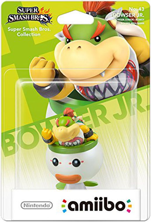 Figurine Amiibo N°43 Smash Bowser Junior