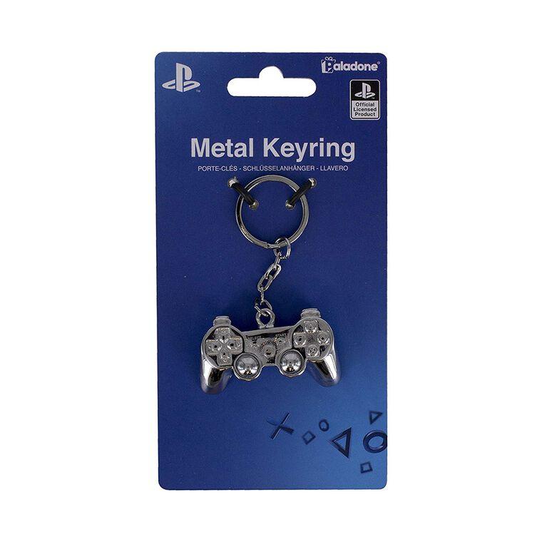 Porte-clés - PlayStation - Manette 3D métal