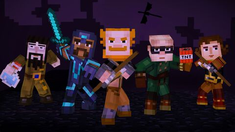 Minecraft : Story Mode - The Complete Adventure