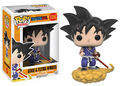 Figurine Funko Pop! N°109 - Dragon Ball Z - Goku et nuage magique