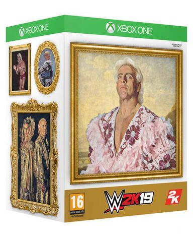 Wwe 2k19 Collector Edition Exclusivité Micromania