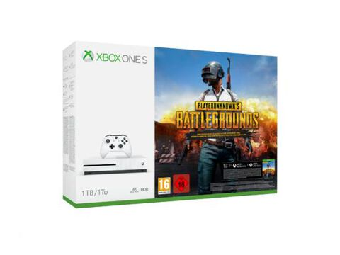 Pack Xbox One S 1to Blanche + Playerunknown's Battlegrounds