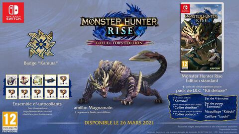 Monster Hunter Rise Edition Collector