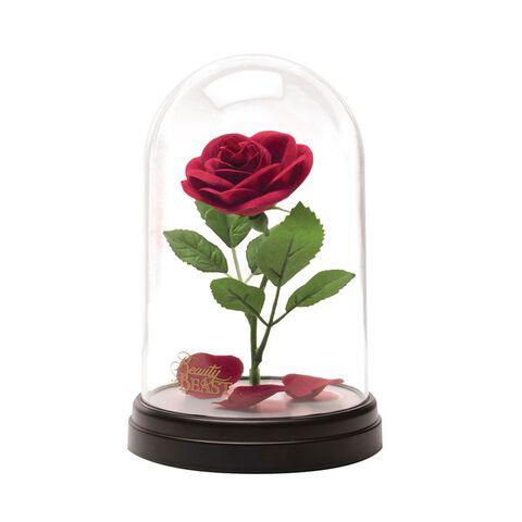 Lampe - La Belle et la Bête - Rose sous cloche