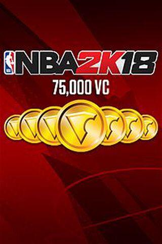 Dlc NBA 2k18 75 000 Vc Xbox One