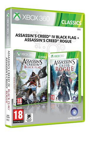 Compilation Assassin's Creed IV : Black Flag + Rogue