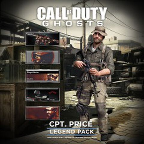 Dlc Call Of Duty Ghosts Capitaine Price Ps3/ps4
