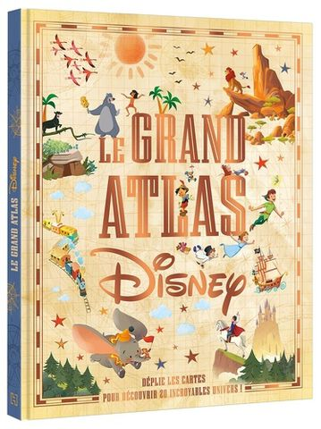 Livre -  Grand Atlas Disney