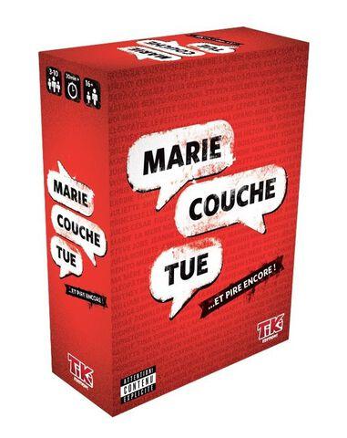Jeu de Société - Marie Couche Tue