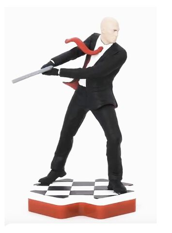 Figurine Totaku N°36 - Hitman - Agent 47 - Exclusivité Micromania-Zing