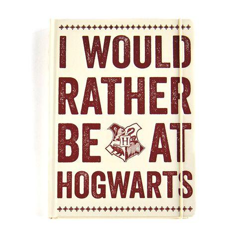 Carnet - Harry Potter - Be at Hogwarts - Format A5