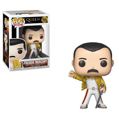 Figurine Funko Pop! N°96 - Queen - Freddie Mercury Wembley 86