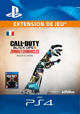 DLC - Call of Duty : Black Ops III - Zombies Chronicles