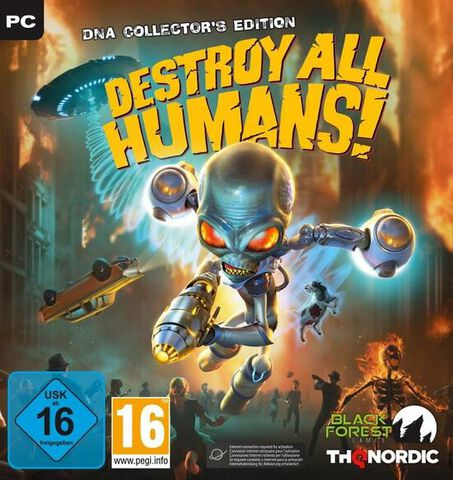 Destroy All Humans Dna Collector Edition