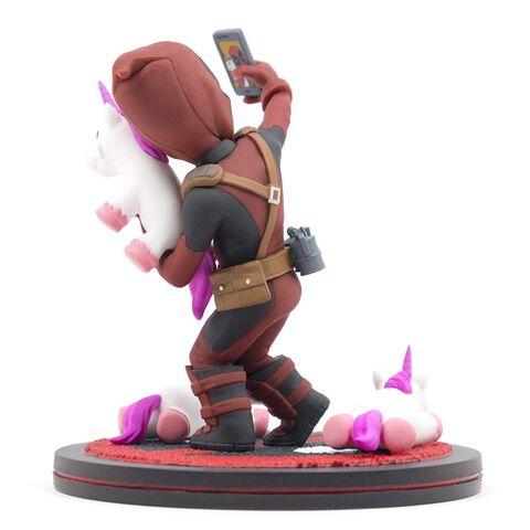 Figurine Q-Fig - Marvel - Deadpool Selfie Licorne