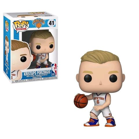Figurine Funko Pop! N°41 - NBA - Kristaps Porzingis