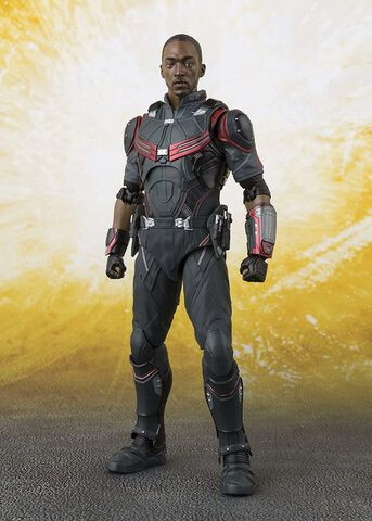 Figurine S.H.Figuarts - Avengers : Infinity War - Falcon Ailes