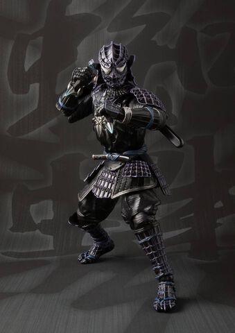 Figurine Meisho Manga - Spider-Man - Samurai Black Spider-Man