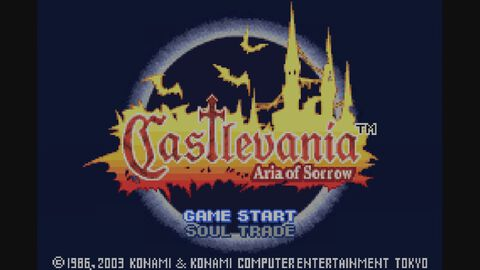 Castlevania Aria of Sorrow (GBA)
