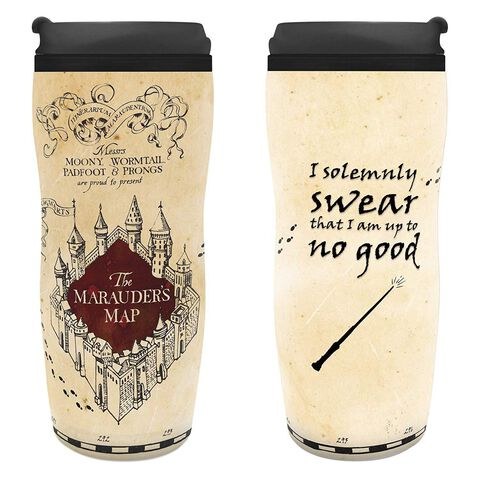Mug de voyage - Harry Potter - Carte du Maraudeur