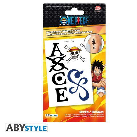 Tatouages - One Piece - Kit 5 Tatouages 15x10cm