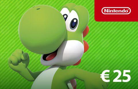 Carte Nintendo Eshop 25 Euros
