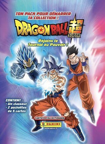 Carte Dragon Ball Super - Panini - Starter Pack 1 classeur + 2 pochettes