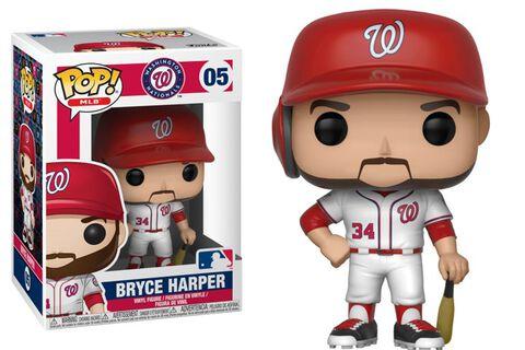Figurine Funko Pop! N°05 - Major League Baseball Saison 3- Bryce Harper