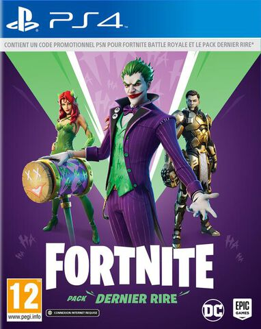 Fortnite Pack Dernier Rire (code In A Box)