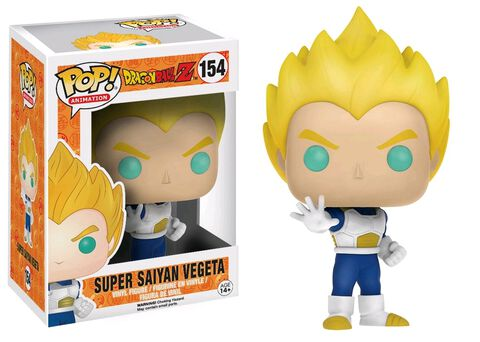 Figurine Funko Pop! N°154 - Dragon Ball Z - Super Saiyan Vegeta