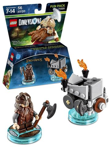 Figurine Lego Dimensions Gimli - Le Seigneur Des Anneaux