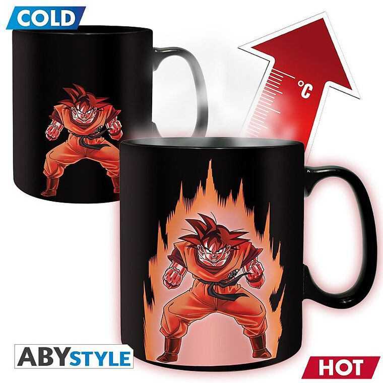 Mug - Dragon Ball - Heat Change - Goku - 460 Ml
